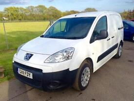PEUGEOT PARTNER HDI PROFESSIONAL 850, White, Manual, Diesel, 2011