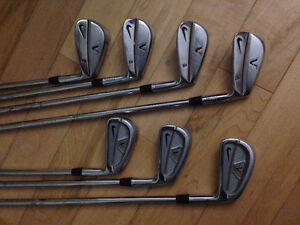 Golf club/baton - Nike VR & TW forged iron/fer set/ensemble