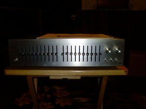 wide range stereo frequency equalizer