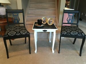 Classy Chairs & Table