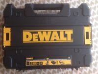 Dewalt TSTAK DCD790 carry case - DCD796 DCD795 DCD785 DCF887 DCF886 DCF885 etc - NEW