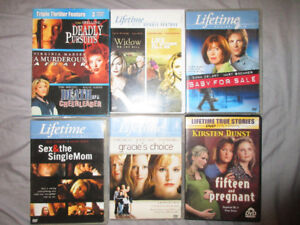 LIFE TIME DVDS&TV MOVIES