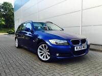 2009 59 Reg BMW 320d SE Touring Mettalic Blue + Nice Spec Estate Diesel