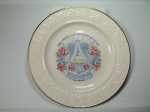 Birth Of Prince William Of Wales Commemorative Plate.