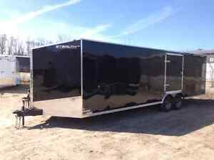 New Stealth Enclosed Trailers 7 wide 8.5 wide All Sizes