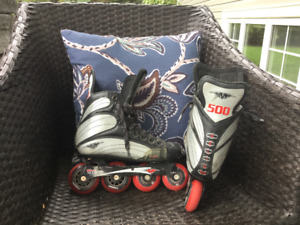 Mission roller blades, good condition size 5