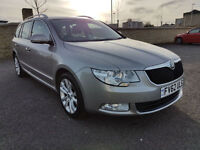 2012 SKODA SUPERB TDI SE ESTATE, FULL SERVICE HISTORY