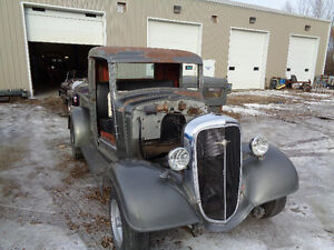 1936 CHEV TRUCK SHORTBOX PROJECT OLD HOT ROD PICK UP