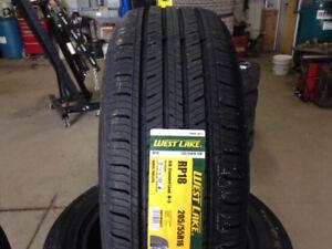 4 pneus neufs été 205-55-16 installation et taxes incluses