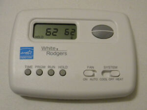 White-Rodgers 750 5-2 day Programmable Single Stage Thermostat