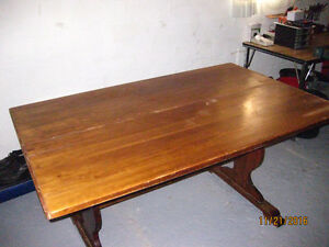 Wooden Table Windsor Region Ontario image 4