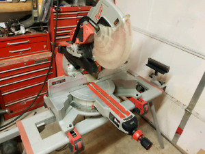 "12"" Milwalkee Dual Bevel sliding compound miter saw for sale"