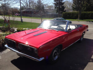 1967 Barracuda Convertible