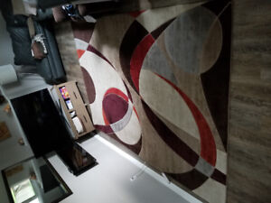 Modern, clean carpet 7' x 11'- great condition