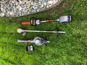 """CORE """"Battery powered"""" lawn tools.."""