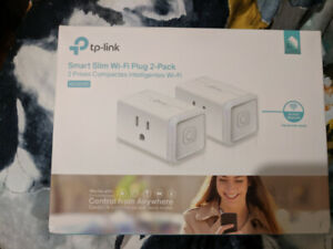 TP-LINK Smart Slim Wi-Fi Plug 2-Pack – BNIB