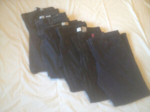 5 Pairs of Women's Jeans / Pants (Mostly 14 Petite)