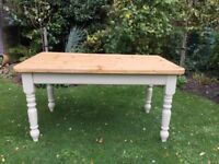 Pine Farmhouse Kitchen / Dining Table ( 5ft x 3ft )NEW PRICE