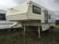 1989 Travelaire rustler 5th wheel, 22 feet (PRICE REDUCED)