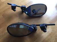 Pair of Milenco towing mirrors