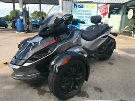 2013 Can-Am Spyder Roadster RSS SE5 SEMI AUTO SEAT UPGRADE