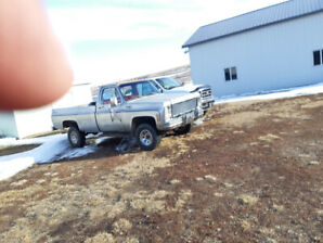 1979 Chev half ton 4x4 full time