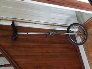 5 foot  chrome Bedford Unicycle like New price drop