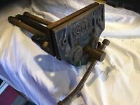 """Heavy Duty Woden """"British Made"""" Model 189B/2 Quick release wood working vice"""
