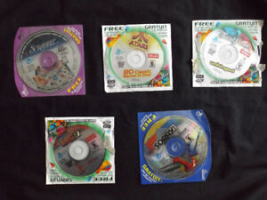 Lot of 5 General Mils PC CD-ROM Games