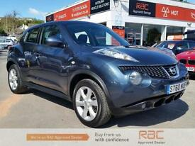 NISSAN JUKE ACENTA 2011 Petrol Automatic in Blue