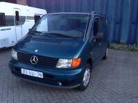 LEFT HAND DRIVE Mercedes Benz Vito