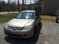 2004 Civic 5 speed, New MVI