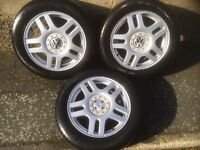 "16"" golf mk4 alloy wheels"