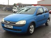 2001 VAUXHALL CORSA CLUB *1.0 LITRE* 55K MILES *1 OWNER* FULL SERVICE HISTORY