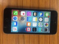 iPhone 5 unlock black 16gb used