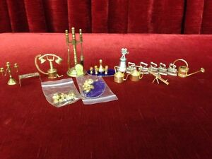 Brass & White Cast Miniatures - ALL FOR $120 Windsor Region Ontario image 1