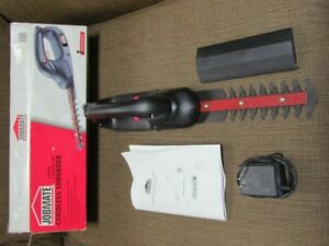 Cordless Shrubber - Hedge Trimmer