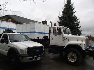 international  roll off truck for sale