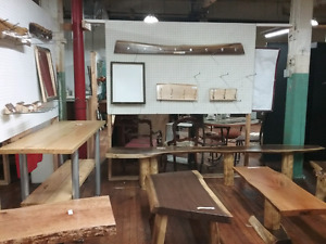 Live edge furniture, wood, collectibles + 1000 booths