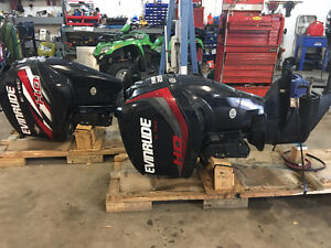 2014 Evinrude 225hp HO Outboard Engine FOR SALE
