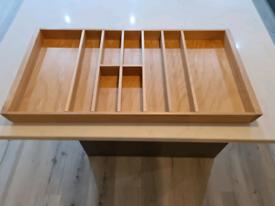Wooden Cutlery drawer insert