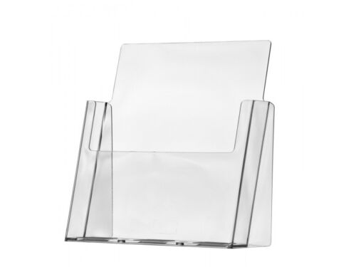 Brochure Holder 8.5 x 11 inch Magazine Rack Stand Extra Wide Display Stand