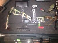 Bowtech 82 airborne and accessories.