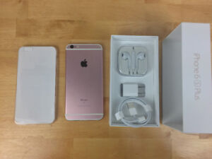 *Rose Gold* iPhone 6S Plus- 64GB mint condition