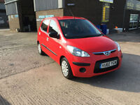 2010 60 Hyundai i10 1.2 ( 76bhp ) Classic,ONLY 29000 MILES WARRANTED,