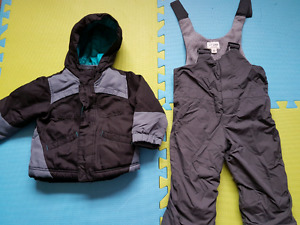 Toddler boy 2t winter jacket and snow pants