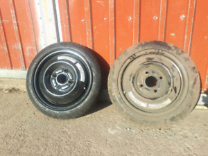 Spare tires 114.3 x 4