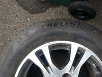 Pneus Michelin Latitude avec Mag Honda Odyssey 2011