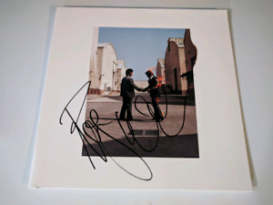Roger Waters Signed Pink Floyd Vinyl Album LP Wish You Were here