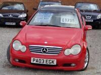 2003 MERCEDES BENZ C CLASS C200 K Se 1.8 Auto
